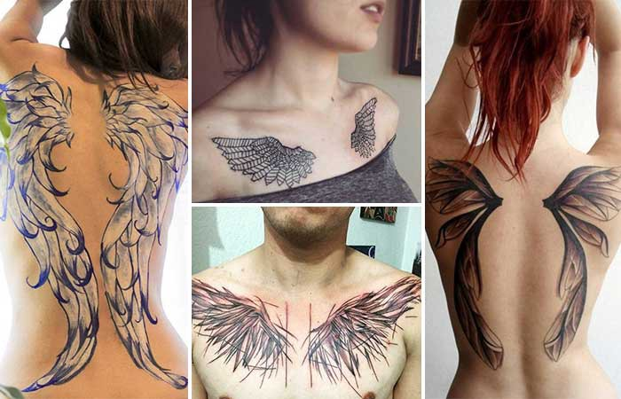 Wing Tattoos And Their Symbolic Meanings