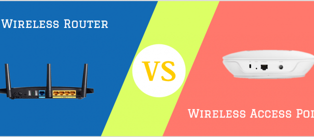 Wireless Access Point vs. Wireless Router