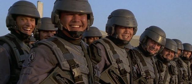 """""""Would You Like to Know More?"""": Satire, American Stiob and Starship Troopers"""