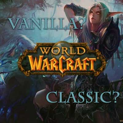 Wow classic private servers are the same as vanilla server